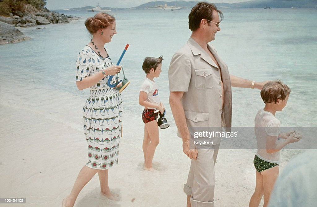 Danish Royal Family On The Virgin Islands : News Photo