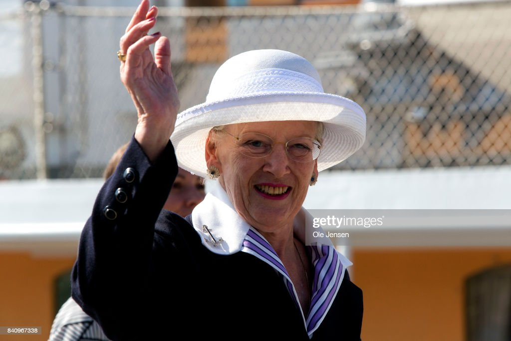 Queen Margrethe Visits The Island Of Bornholm : News Photo