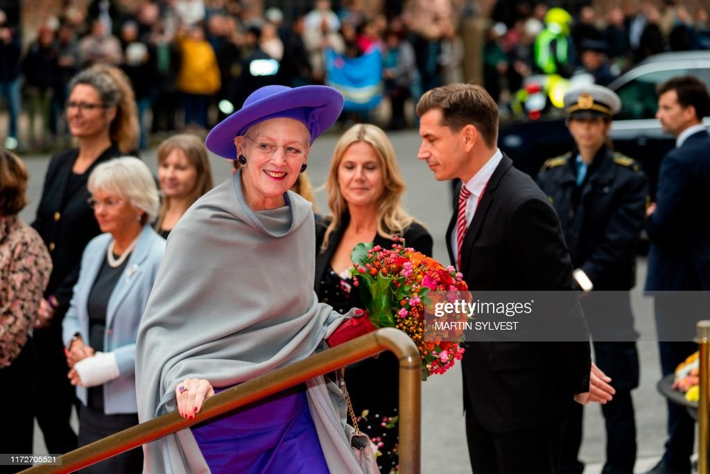 DENMARK-POLITICS-PARLIAMENT-ROYALS : News Photo