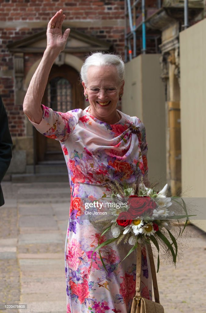 """""""The Faces Of The Queen"""" Exhibition Opening In Frederiksborg : News Photo"""
