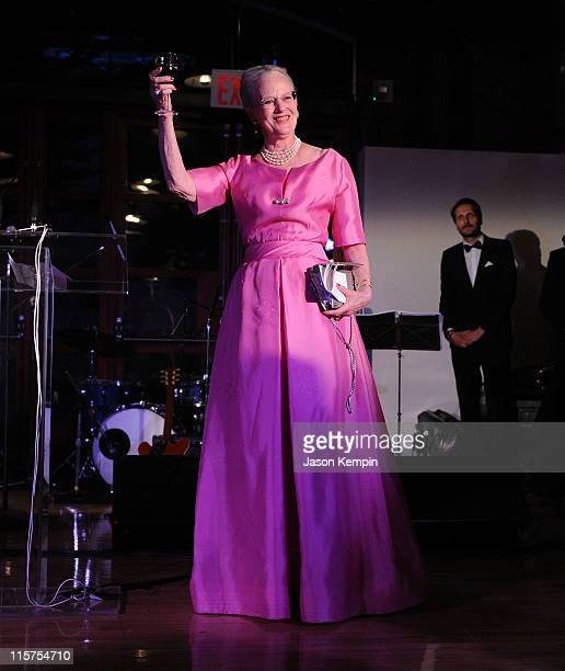 """Queen Margrethe of Denmark attends the 2011 Danish American Society """"Person Of The Year"""" Gala at the American Museum of Natural History on June 9,..."""