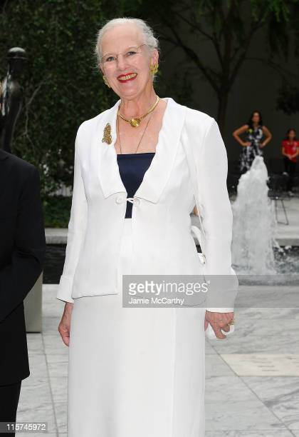 Queen Margrethe of Denmark attends the Reinventing Danish Classics grand prize ceremony at The Museum of Modern Art on June 9 2011 in New York City