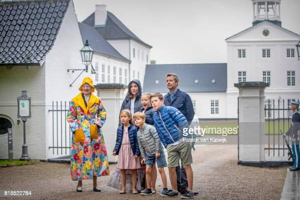Queen Margrethe of Denmark, Crown Prince Frederik of Denmark, Crown Princess Mary of Denmark, Prince Christian of Denmark, Princess Isabella of...