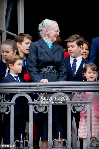 Queen Margrethe of Denmark Crown Princess Mary of Denmark Prince Christian of Denmark Princess Isabella of Denmark Prince Vincent of Denmark Princess...