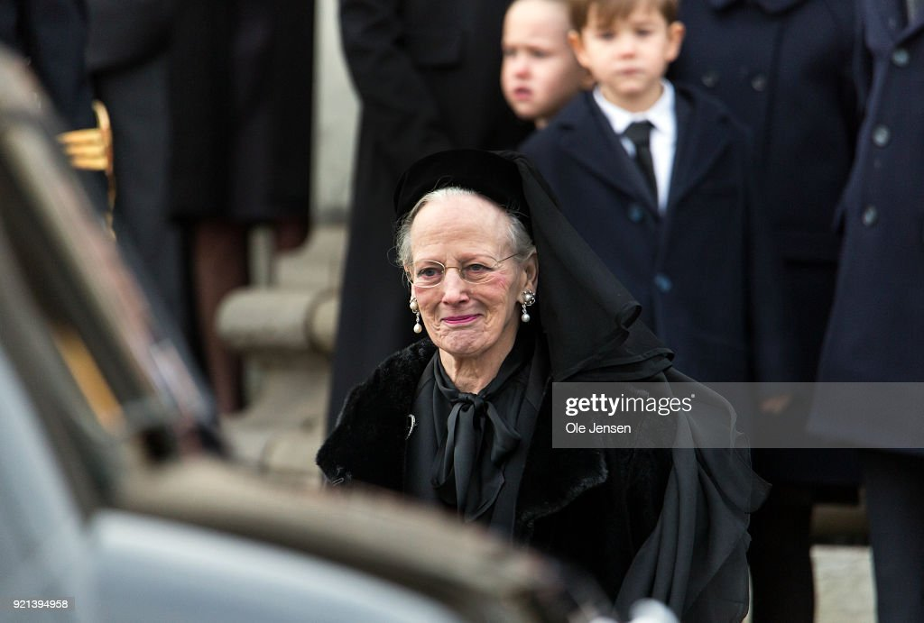 Funeral Of Danish Prince Henrik In Copenhagen : News Photo
