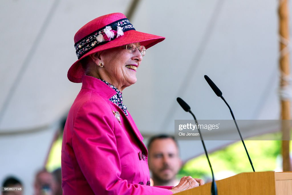 Queen Margrethe Of Denmark Inaugurates National Park : News Photo