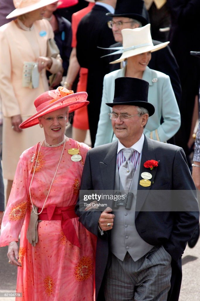 Queen Margrethe And Henrik : News Photo