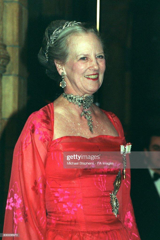 Queen of Denmark reception : News Photo