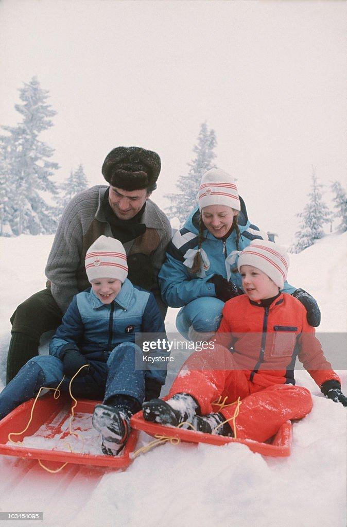 Danish Royal Family On Holiday : News Photo