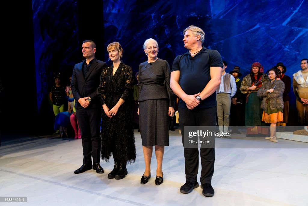 Queen Margrethe Of Denmark Holds Press Meeting About Christmass Ballet : News Photo
