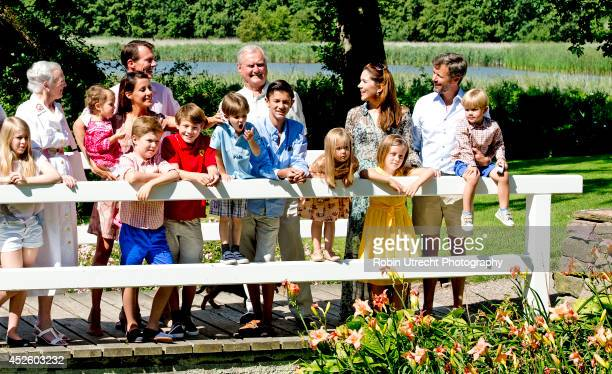 Queen Margrethe Prince Henrik Crownprince Frederik Crownprincess Mary Prince Christian Princess Isabella Prince Vincent Princess Josephine Prince...