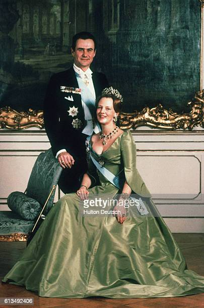 Queen Margrethe Prince Henrik Of Denmark