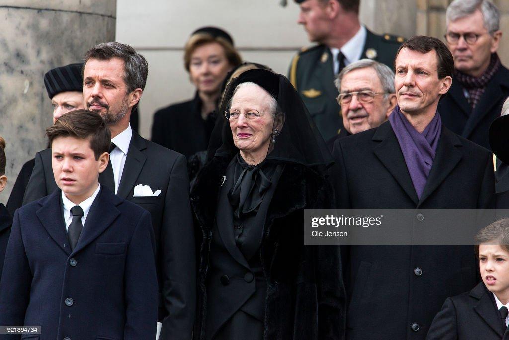 Funeral Of Prince Henrik In Copenhagen