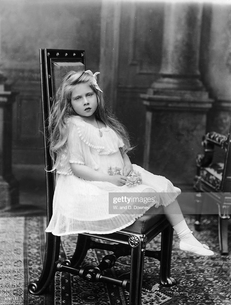 Queen Marie (1900 - 1961) of Yugoslavia, as Princess Marie of Romania, at Buckingham Palace, London. She married King Alexander Karadjordjevic I of Yugoslavia in 1922.