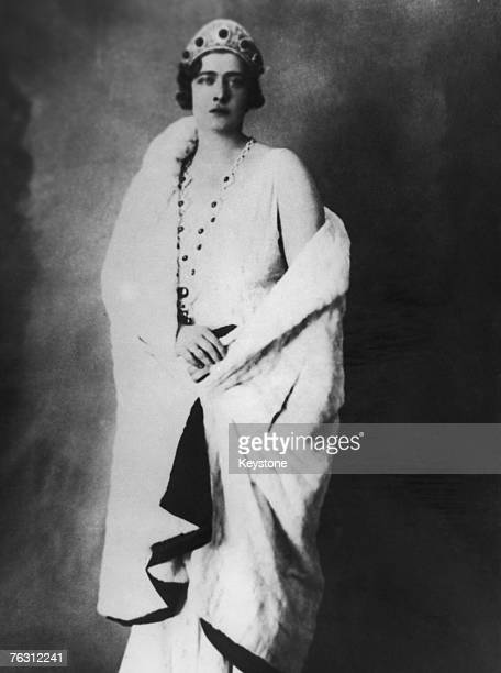 Queen Marie of Yugoslavia , consort of King Alexander I, circa 1922.