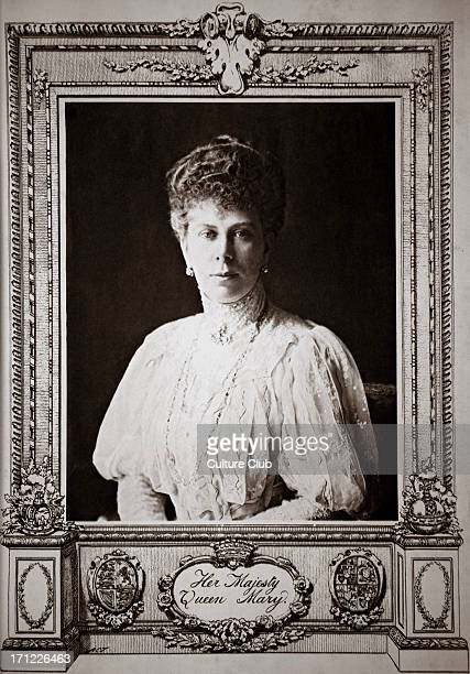 Queen Mary consort Of King George V in the year of her coronation 1910 Wife of King George V who reigned from 6 May 1910