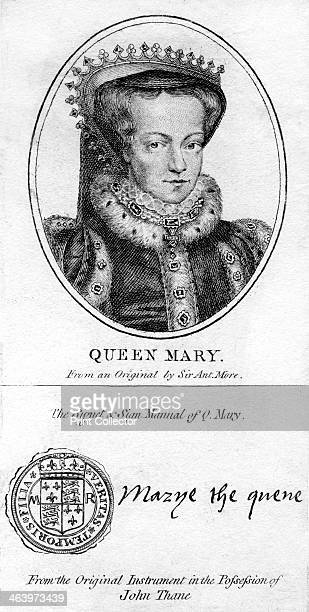 Queen Mary I of England Mary Tudor was Queen of England and Queen of Ireland from 1553 until her death Mary the fourth and penultimate monarch of the...