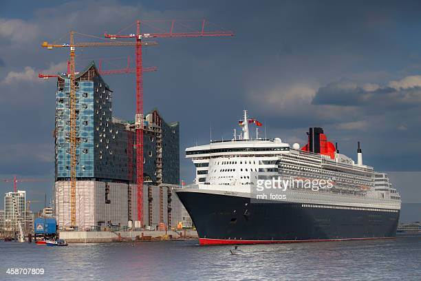 queen mary en hamburgo - mary moody fotografías e imágenes de stock