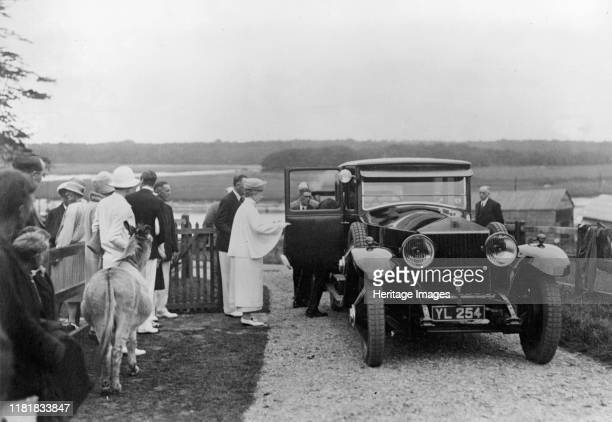 Queen Mary visiting Bucklers Hard Hampshire in 1928 Creator Unknown