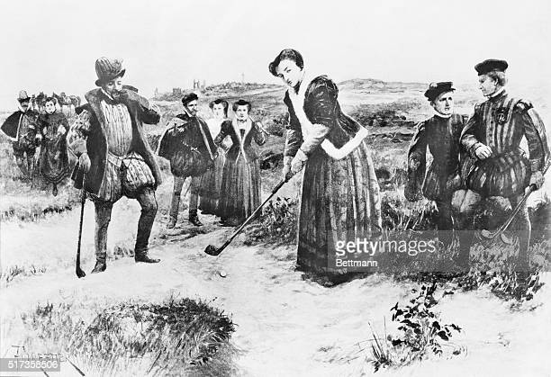 Queen Mary with Chastelard in attendance playing at StAndrews 1563 During the winter of 1563 Mary stayed for several months at StAndrewsoccupying a...