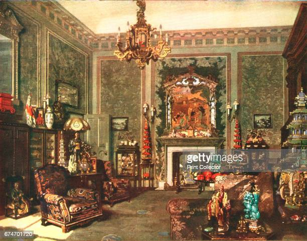 Queen Mary's Chinese Chippendale Room at Buckingham Palace c1935 From 'The Illustrated London News Silver Jubilee Record Number 19101935' [The...