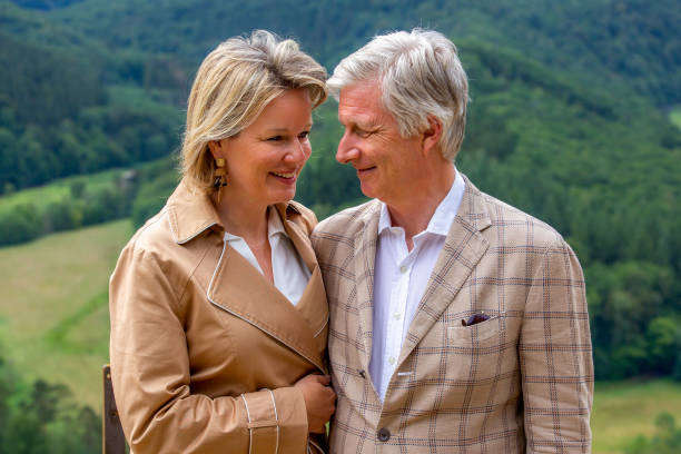 BEL: King Philippe Of Belgium And Family Visit A Touristic Spot In The Province Of Luxembourg