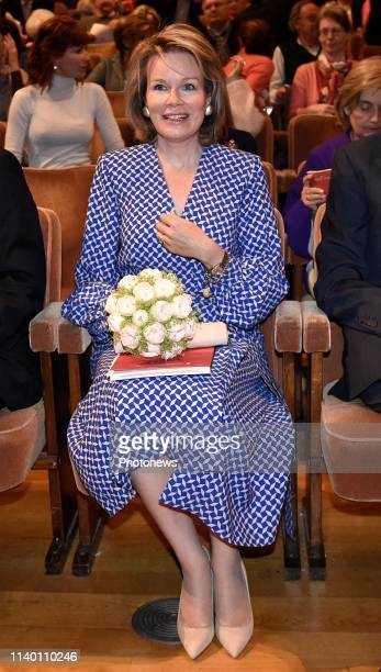 Queen Mathilde attends the qualification sessions pict. By Didier Lebrun © Photo News via Getty Images)