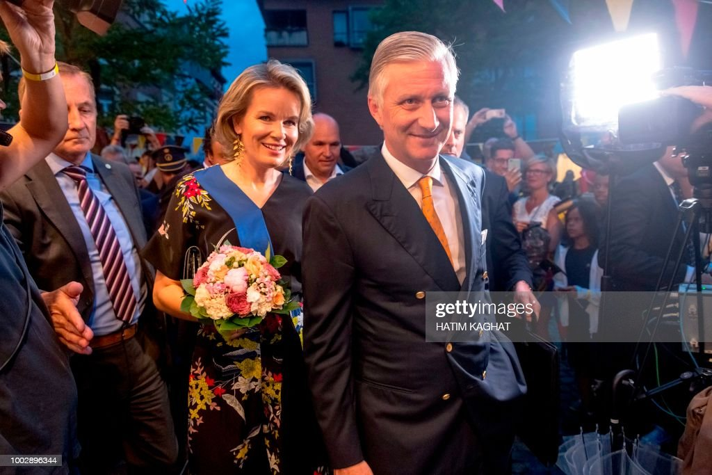 BELGIUM-ROYALS-NATIONAL DAY : News Photo
