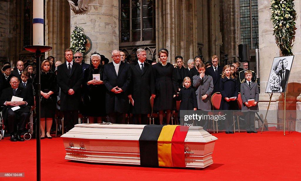 Funeral Of Queen Fabiola of Belgium In Laeken : News Photo