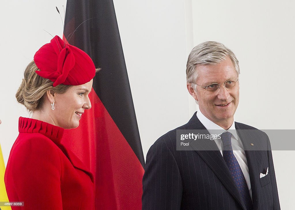 King Philippe And Queen Mathilde Of Belgium Visit Berlin : News Photo