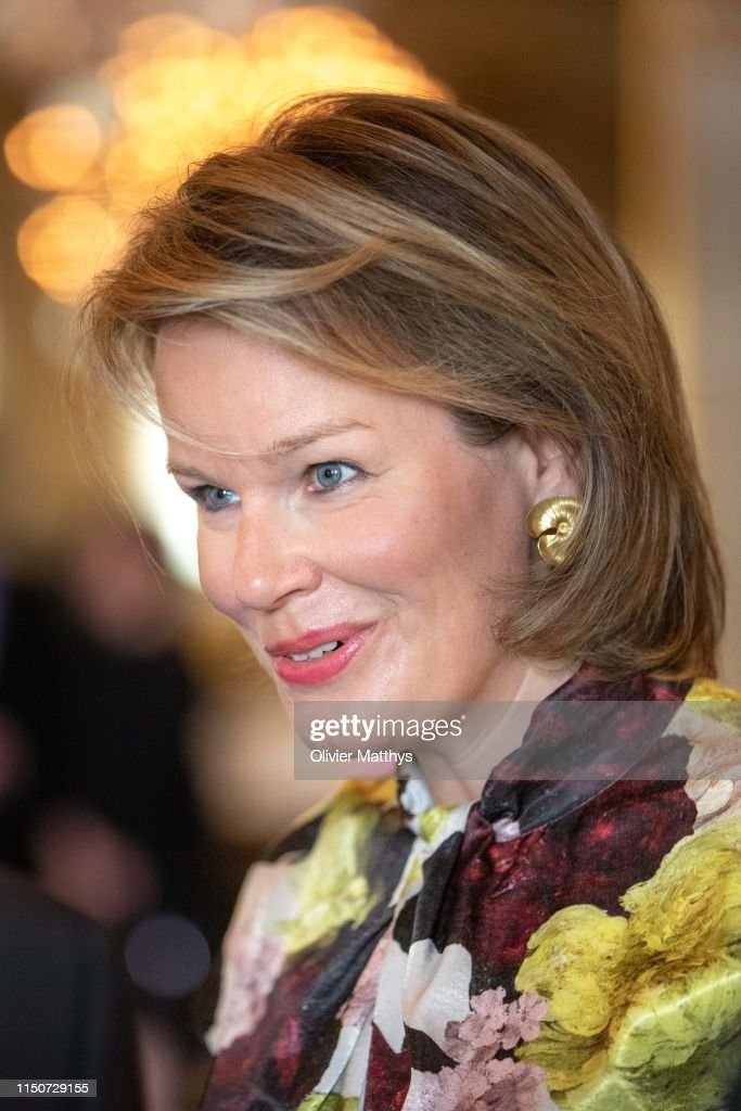 BEL: King Philippe Of Belgium And Queen Mathilde Of Belgium Attends International Music Concurs In Brussels