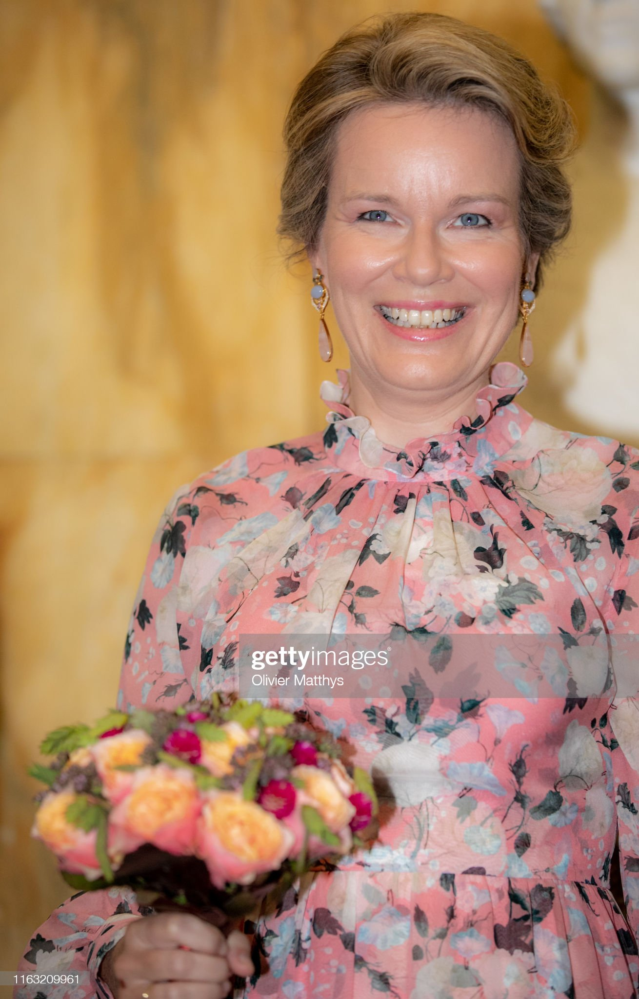 King Philippe Of Belgium And Queen Mathilde Of Belgium Attend The Preludium To The National Day : News Photo