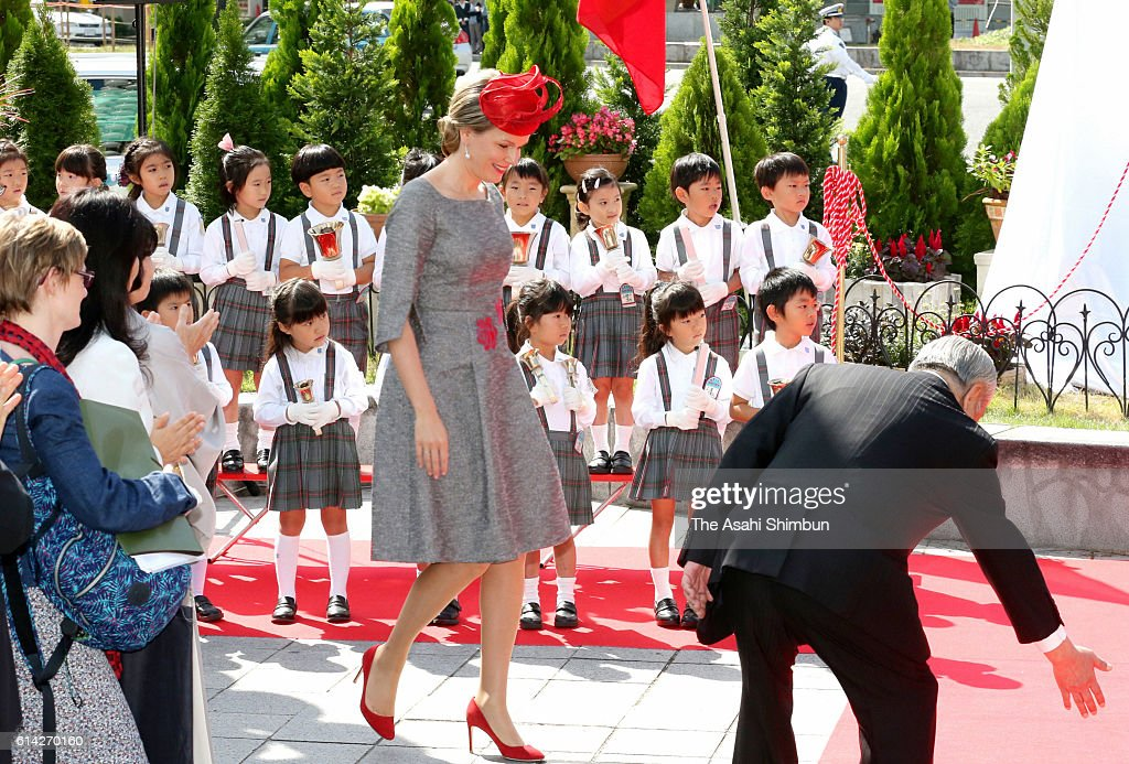 King And Queen of Belgium Visit Japan - Day 3 : News Photo