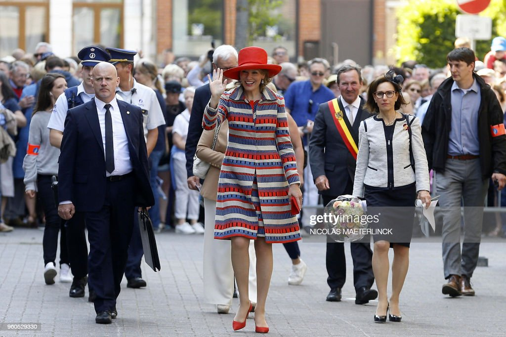 BELGIUM-ROYALS-RELIGION : News Photo