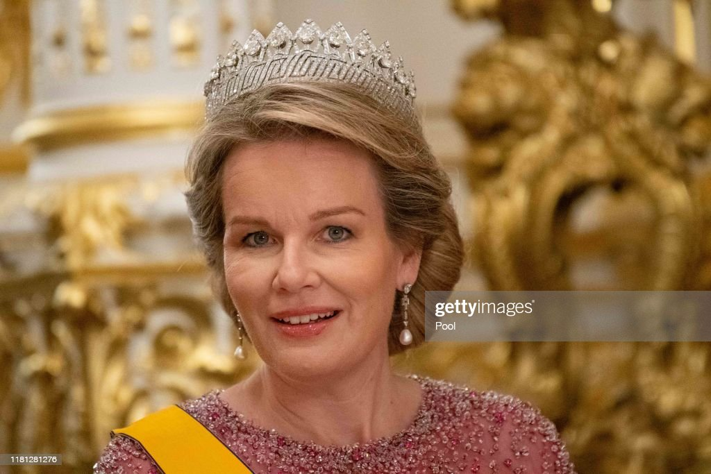 King Philippe Of Belgium And Queen Mathilde Of Belgium : State Visit In Luxembourg - Day One : News Photo