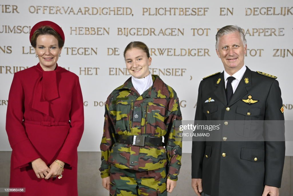 BRUSSELS ROYAL MILITARY ACADEMY OPENING : ニュース写真