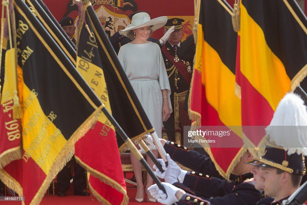 National Day Of Belgium 2015 : News Photo