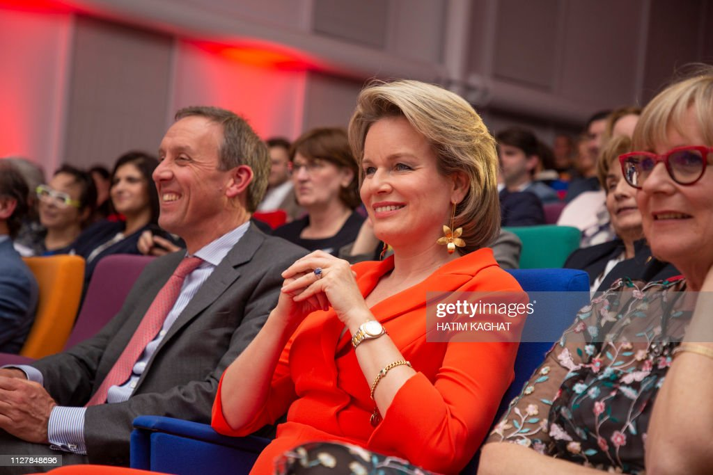 BELGIUM-ROYALS-WOMED-AWARD : News Photo