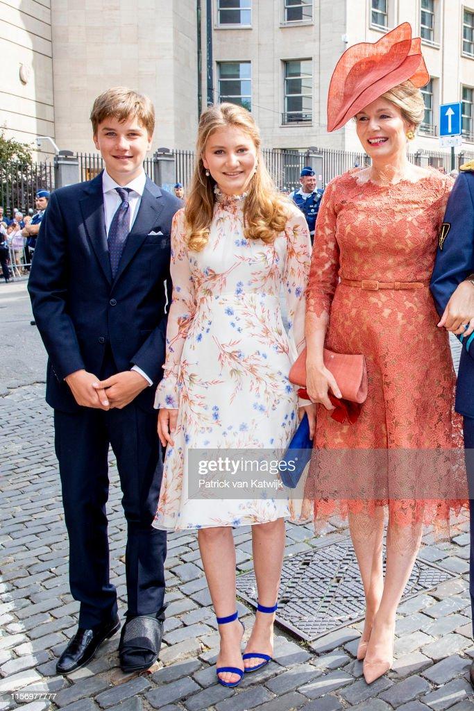 National Day Of Belgium 2019 : Nieuwsfoto's