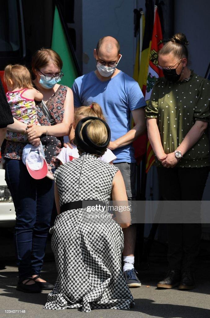 BELGIUM-EUROPE-WEATHER-FLOODS : News Photo