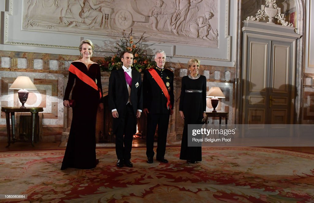 State Visit Of France President Emmanuel Macron - Day One : Photo d'actualité