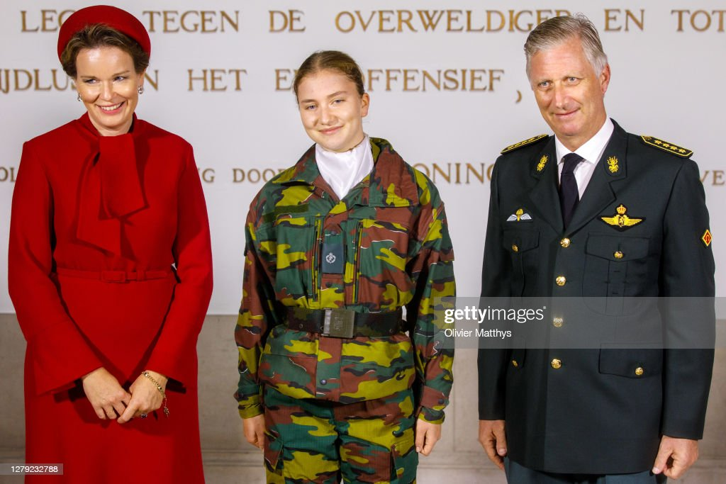The Belgium Royal Family Poses For Their Offical Photography : News Photo