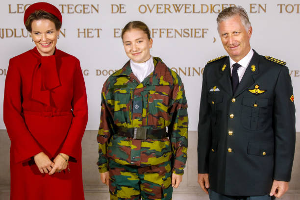 BEL: The Belgium Royal Family Poses For Their Offical Photography