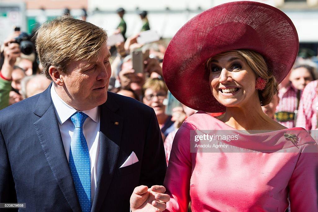 The Dutch Royal couple in Munich : News Photo
