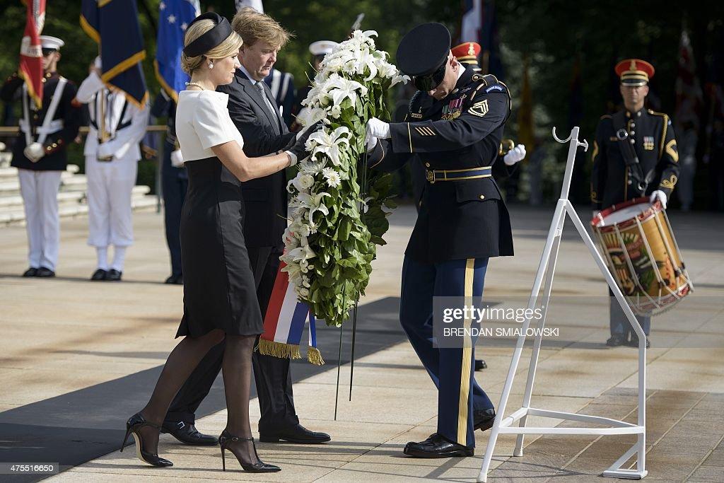 US-NETHERLANDS-DIPLOMACY : News Photo