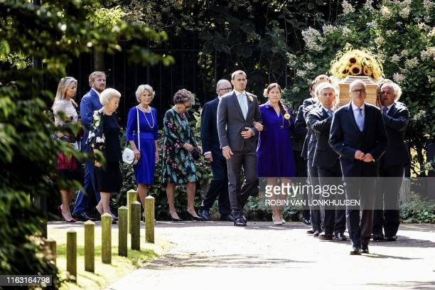 Queen Maxima and King Willem-Alexander of the Netherlands, Princesses Beatrix, Irene and Margriet and other members of the Dutch royal family attend...