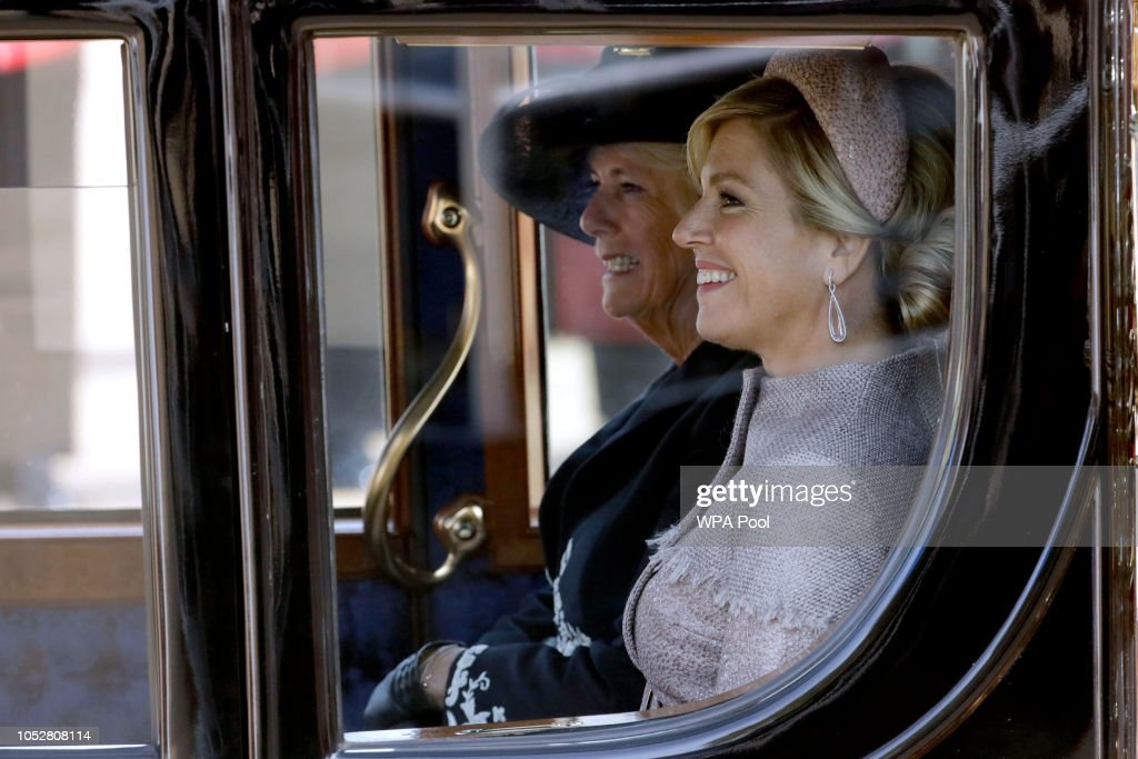 State Visit Of The King And Queen Of The Netherlands - Day One : News Photo