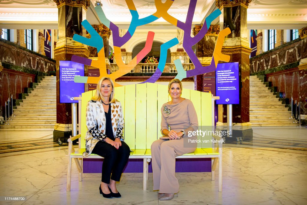 Queen Maxima Of The Netherlands Attends The Mental Health And Psychosocial Support Conference : News Photo