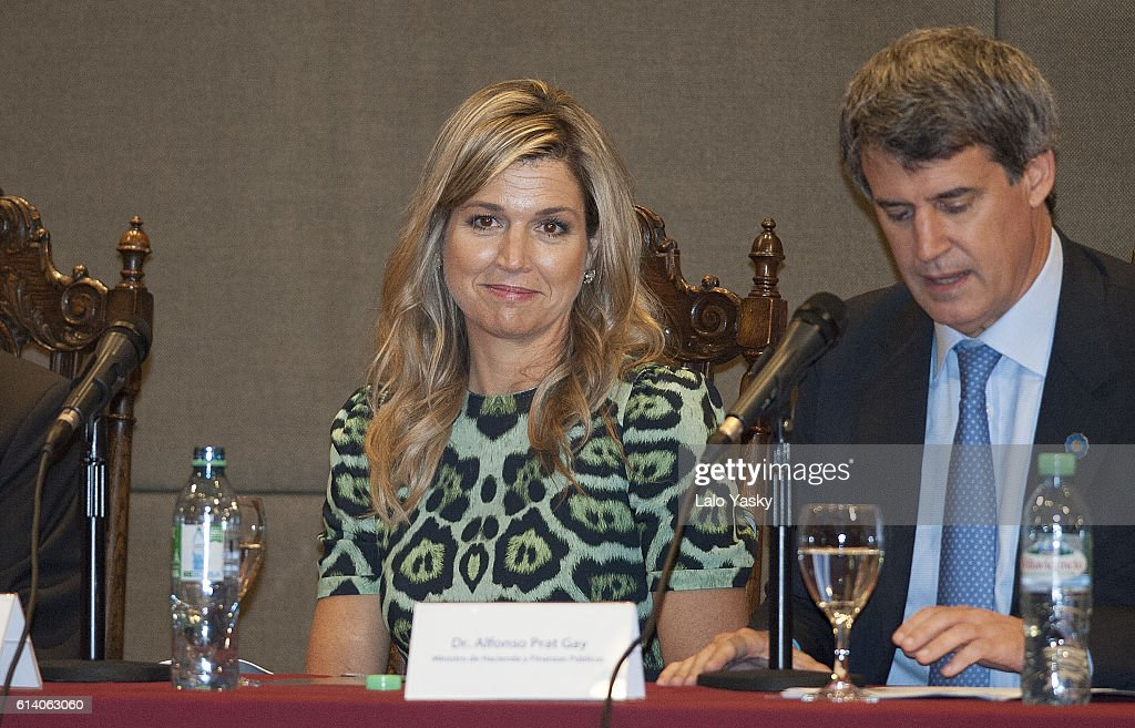 Queen Maxima Attends a Conference UCA : News Photo