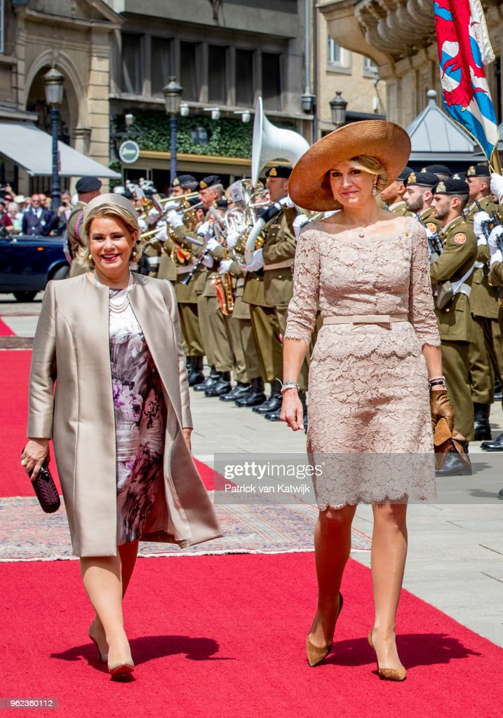King And Queen Of The Netherlands Visit Luxembourg : Day Three